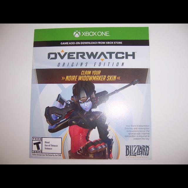 Buy overwatch digital code xbox one
