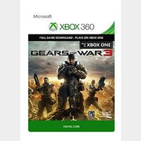 Code to download the game Gears of War 3 For Xbox One or Xbox 360