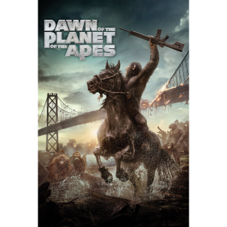 Dawn of the Planet of the Apes - INSTANT DELIVERY