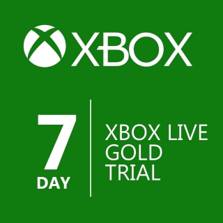 Xbox Live Code for 7 Day Trial - Instant Delivery