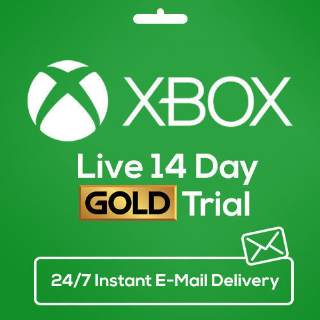 Xbox Live Gold 14 Day Trial Code for Xbox One or Xbox 360 - Instant Delivery