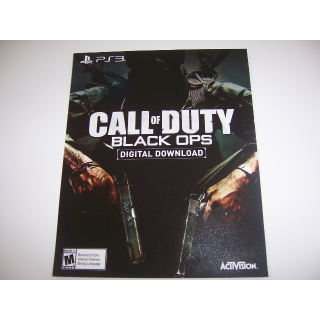 Call of Duty Black Ops Download Code for PlayStation 3 - Instant Delivery