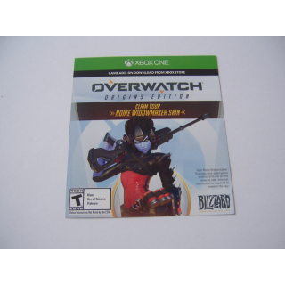 Noire Widowmaker Skin in Overwatch DLC XB1 (Xbox One) - INSTANT DELIVERY