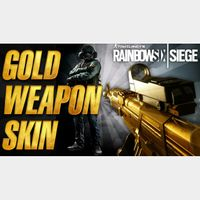 Rainbow Six Siege Gold Weapons Skin Pack Day One Download Code (DLC) for XBOX ONE - INSTANT DELIVERY