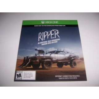 The Ripper Add-on for Mad Max for Xbox One XB1 - Instant Delivery