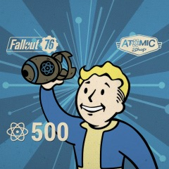 500 Atoms for Fallout 76 for Xbox One - INSTANT DELIVERY!