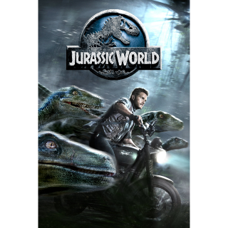 Jurassic World - HD - Code for Movie Download - Instant Delivery