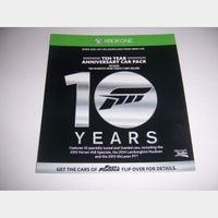 Forza 6 Ten Year Anniversary Car Pack for Xbox One