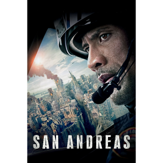 San Andreas - HD - Movie Download Code - Instant Delivery - Ultra Violet UV - Moviesanywhere