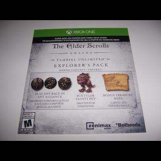 Elder Scrolls - Explorer's Pack Digital Code - Instant Delivery