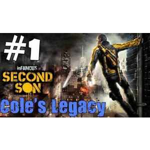Infamous Second Son - Coles Legacy Download Code - Instant Delivery
