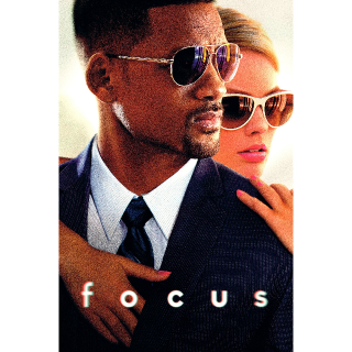 Focus - HD - Movie Download Code - Instant Delivery
