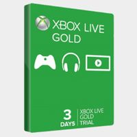Xbox Live Code for 3 Day Trial - Instant Delivery!