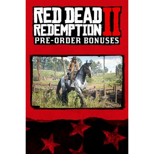 Red Dead Redemption II 2 Pre-Order Bonus for The War Horse and the Outlaw Survival Kit Xbox One XB1 - INSTANT DELIVERY