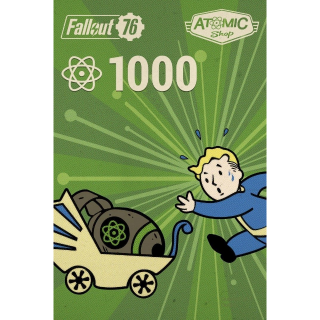 1000 Atoms for Fallout 76 for Xbox One - INSTANT DELIVERY!