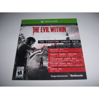 Evil With-in Add-on The Fighting Chance Pack - Xbox One - Instant Delivery