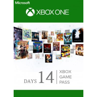 Xbox Game Pass 14 Days Trial - INSTANT DELIVERY
