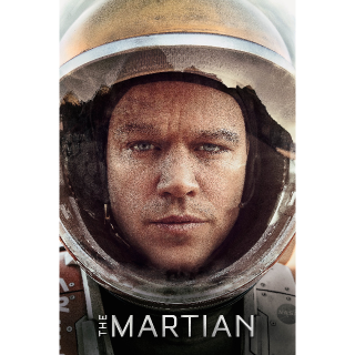 The Martian - HD - Code for movies Download - Instant Delivery