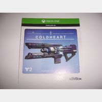 Coldheart Exotic Weapon Code for Destiny 2 Xbox One XB1 - INSTANT DELIVERY!