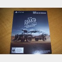 Mad Max Ripper Magnum Opus Car Body Pack Game Add-on for PlayStation 4 PS4 - Instant Delivery