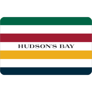 $100.00 Hudson's Bay e-gift card (Instant Delivery)