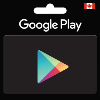 $30.00 Google Play CANADA Gift Card code (Instant Delivery)