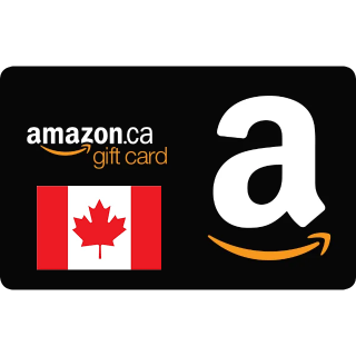 $50.00 Amazon CANADA Gift Card code (Instant Delivery)