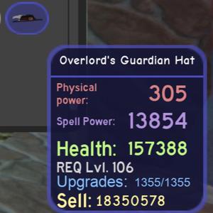 Accessories | overlord Guardian helmet
