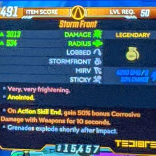 Grenade | Storm Front 50%Corrosive