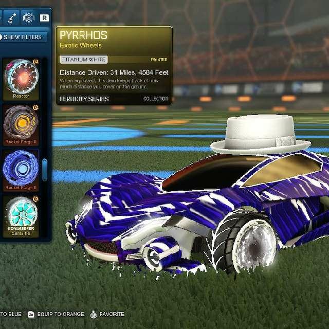 Pyrrhos Titanium White In Game Items Gameflip