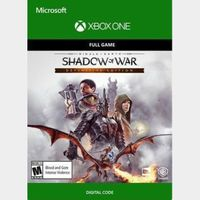 Middle-earth: Shadow of War (Definitive Edition) (Xbox One) Xbox Live Key UNITED STATES