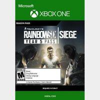 Tom Clancy's Rainbow Six: Siege - Year 5 Season Pass (DLC) (Xbox One) Xbox Live Key UNITED STATES