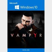 Vampyr - Windows 10 Store Key UNITED STATES