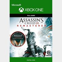 Assassin's Creed III: Remastered (Xbox One) Xbox Live Key UNITED STATES