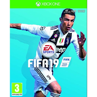 FIFA 19 -XBOX ONE XBOX LIVE- (US REGION)
