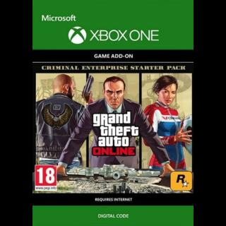 Grand Theft Auto V GTA: Criminal Enterprise Starter Pack (DLC) (Xbox One) Xbox Live Key UNITED STATES