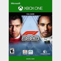 F1 (Xbox One) Xbox Live Key UNITED STATES