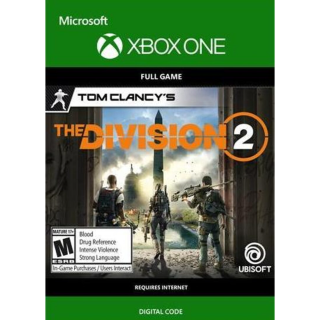 Tom Clancy's The Division 2 (Xbox One) Xbox Live Key UNITED STATES