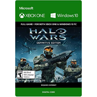 Halo Wars: Definitive Edition XBOX ONE UNITED STATES