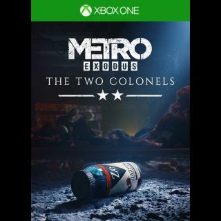 Metro Exodus - The Two Colonels (DLC) (Xbox One) Xbox Live Key UNITED STATES