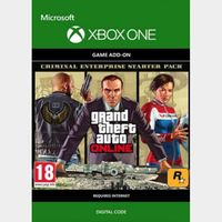 Grand Theft Auto V GTA: Criminal Enterprise Starter Pack (DLC) (Xbox One) Xbox Live Key UNITED STATES