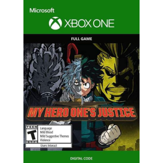 My Hero Ones Justice (Xbox One) Xbox Live Key UNITED STATES