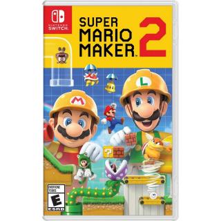 Super Mario Maker 2 Nintendo Switch US Region