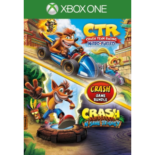 Crash Bundle: N. Sane Trilogy + CTR Nitro-Fueled Xbox One Key US