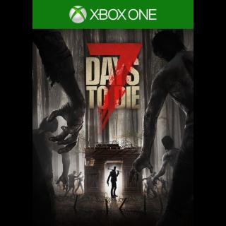 7 Days to Die (Xbox One) Xbox Live Key UNITED STATES