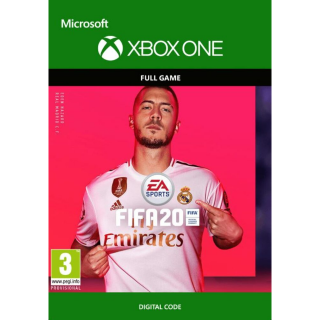 FIFA 20  -XBOX ONE XBOX LIVE- (US REGION)