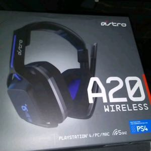 Astro A20s wireless never used