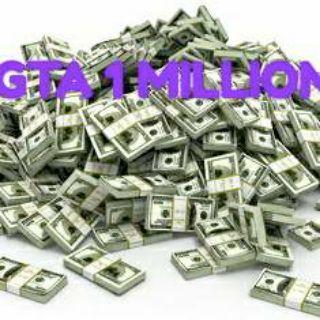 GTA V 1 MILLION MONEY