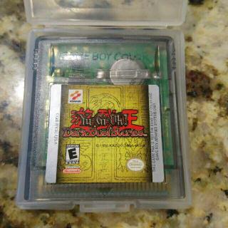 Yu Gi Oh! Yugioh! Dark Duel Stories Game Boy Color Gameboy