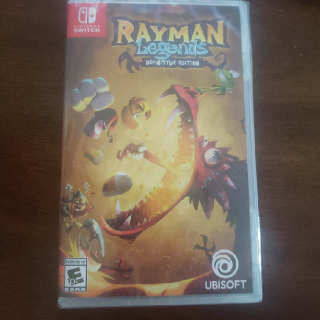 Rayman Legends Ray Man Legend Definitive Special Edition